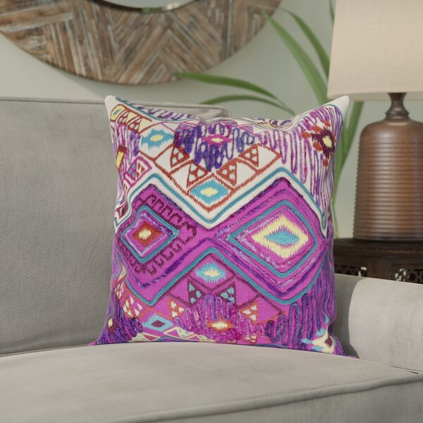 Gauge 100% Cotton Pillow Cover by Bungalow Rose